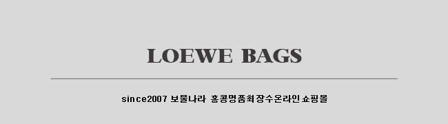 홍콩명품 로에베가방스페셜오더