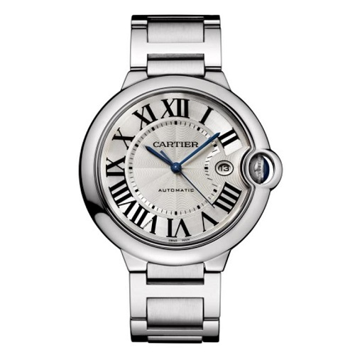 [스페셜오더]Cartier-까르띠에 발롱 블루 드 오토매틱 스틸 남성워치 42mm