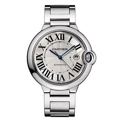 [스페셜오더]Cartier-까르띠에 발롱 블루 드 오토매틱 스틸 남성워치42mm