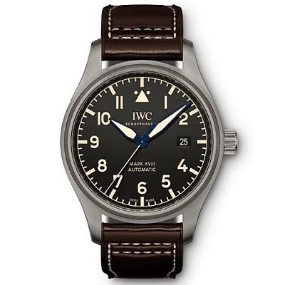 [스페셜오더]IWC-IW327006 아이더블유씨 파일럿 워치 마크 XVIII 헤리티지 티타늄 시계40mm