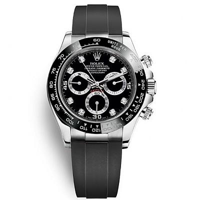 [스페셜오더]ROLEX-롤렉스 코스모그래프 데이토나 다이아 인덱스  스틸 시계40mm