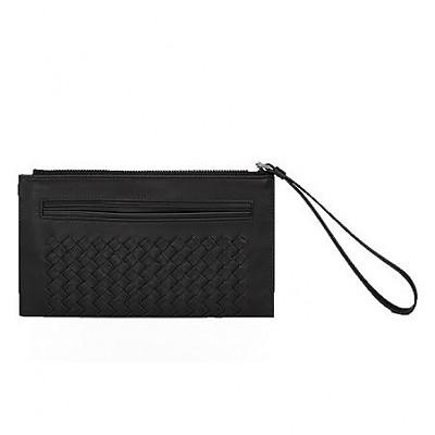 [스페셜오더]BOTTEGA VENETA-404852 보테가 베네타 네로 인트레치아토 지갑 클러치