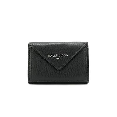BALENCIAGA-391446 발렌시아가 블랙 파피에르 레플리카 미니 지갑
