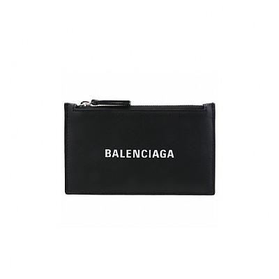 BALENCIAGA-551990 발렌시아가 블랙 에브리데이 지퍼 카드 홀더