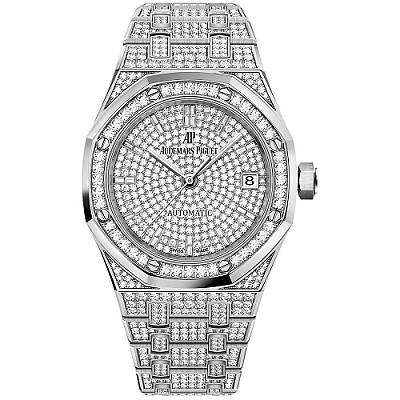 [스페셜오더]Audemars Piguet-오데마 피게 로얄 오크 셀프와인딩 다이아몬드 시계37mm