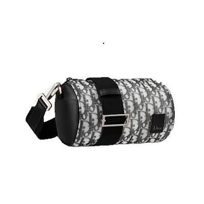 [스페셜오더]Christian Dior-1OBPO061 디올 블랙 오블리크 테크니컬 롤러 숄더백