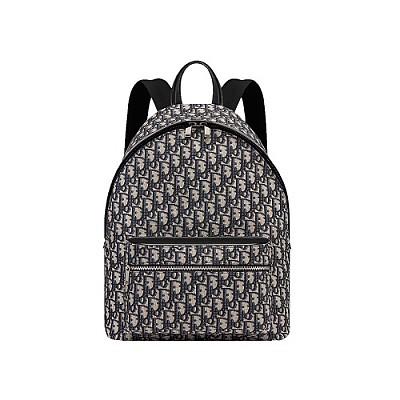 [스페셜오더]Christian Dior-1VOBA0 크리스챤 디올 블랙 라지 오블리크 백팩
