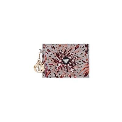 [스페셜오더]Christian Dior-S0126 디올 레이디 디올 불 원소 프린트 NATURE BALLET 카드 지갑