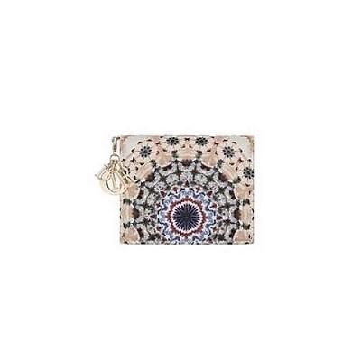 [스페셜오더]Dior-S0178 디올 레이디 디올 KALÉIDIORSCOPIC 프린트 카드 지갑