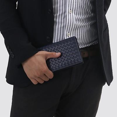 [스페셜오더]BOTTEGA VENETA-316005 보테가 베네타 라이트 토드마린 인트레치아토 VN 콘티넨탈 지갑