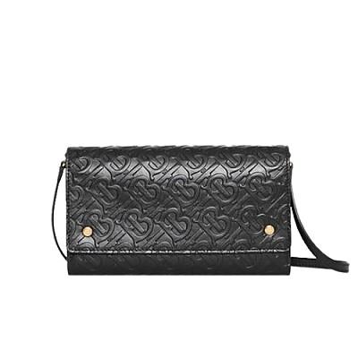[스페셜오더]BURBERRY-80104761 버버리 디태처블 스트랩 모노그램 지갑