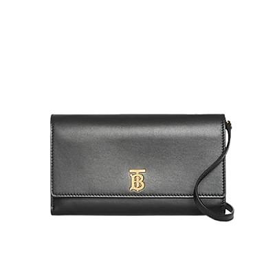 [스페셜오더]BURBERRY-80097551 버버리 디태처블 스트랩 모노그램 모티프 지갑