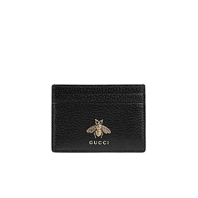 [스페셜오더]GUCCI-523685 1000 구찌 애니멀리에 카드 케이스