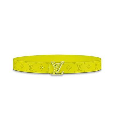LOUIS VUITTON-M0160Q 루이비통 옐로우 LV 이니셜 리버서블 양면 레플리카벨트 40MM