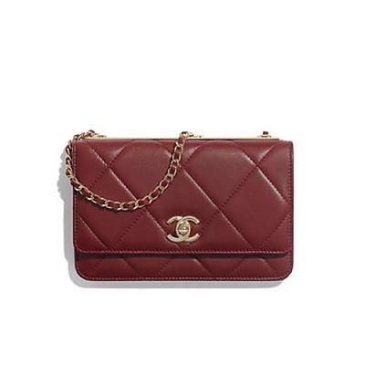 [스페셜오더]CHANEL-A80982 샤넬 골드메탈  체인 지갑