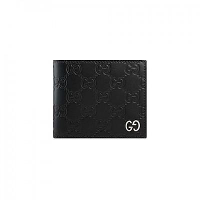 [스페셜오더]GUCCI-473916 1000 구찌 블랙 Dorian 시그니처 반지갑