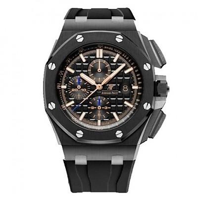 [스페셜오더]Audemars Piguet-오데마 피게 로얄 오크 오프쇼어 셀프와인딩 크로노그래프 세라믹베젤 Mans 시계 44mm