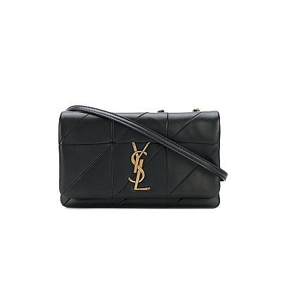 [스페셜오더]SAINT LAURENT-517614 생 로랑 블랙 패치워크 제이미 체인 숄더 지갑
