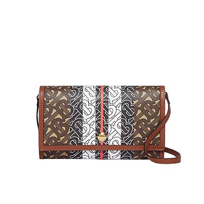 [스페셜오더]BURBERRY-80204041 버버리 모노그램 스트라이프 스트랩 지갑