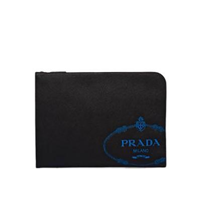 [스페셜오더]PRADA-2VN003 프라다 실크스크린 로고 파우치