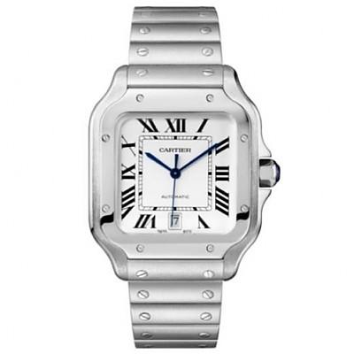 [스페셜오더]Cartier-까르띠에 산토스 오토매틱 스틸 라지 남성시계 40mm