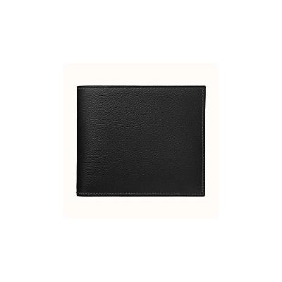 [스페셜오더]HERMES-H076655 에르메스 블랙 MC² 컴팩트 월릿 남성 반지갑