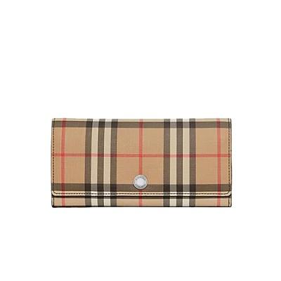[스페셜오더]BURBERRY-80151201 버버리 빈티지 체크 장지갑