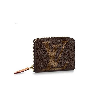 LOUIS VUITTON-M67690 루이비통 모노그램 자이언트 대형 LV 이니셜 지피 코인 퍼스
