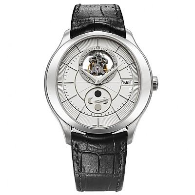 [스페셜오더]PIAGET-피아제 Black Tie 컬렉션 뚜르비옹 GOUVERNEUR 스틸 신사시계 43mm