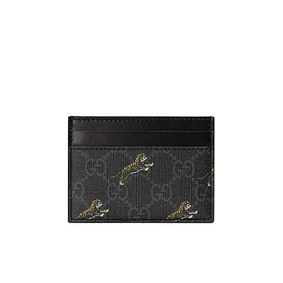 [스페셜오더]GUCCI-584710 1087 구찌 타이거 프린트 GG 카드 케이스