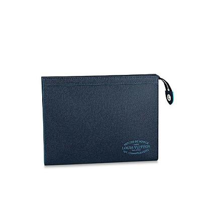 [스페셜오더]LOUIS VUITTON-M30397 루이비통 블루 Louis Vuitton Malletie 프린트 포쉐트 보야주