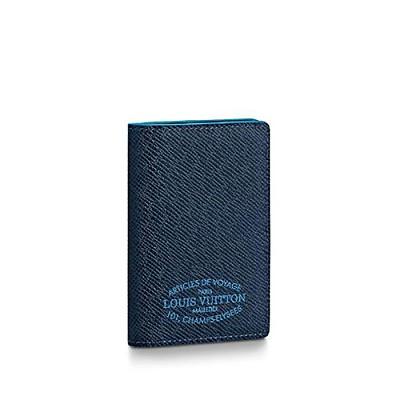 [스페셜오더]LOUIS VUITTON-M30377 루이비통 블루 Louis Vuitton Malletie 프린트 포켓 오거나이저
