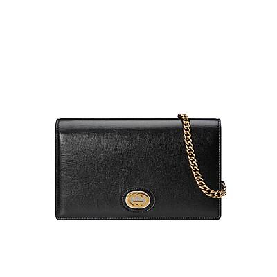[스페셜오더]GUCCI-598549 1000 구찌 블랙 체인 카드 케이스 지갑
