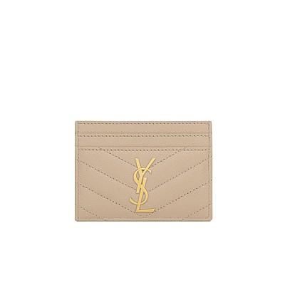 [스페셜오더]SAINT LAURENT-423291 생 로랑 파우더 모노그램 신용카드 케이스