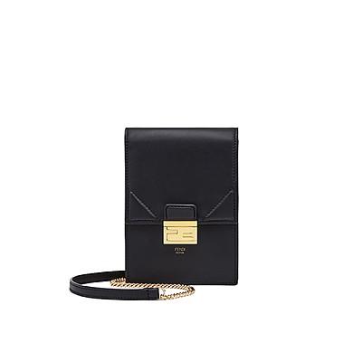 [스페셜오더]FENDI-8M0436 펜디 블랙 버티컬 체인 지갑 캔 유