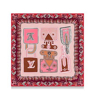 LOUIS VUITTON-M73834 루이비통 핑크 LV 아이코닉 스퀘어