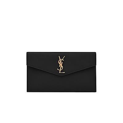 [스페셜오더]SAINT LAURENT-565739 생 로랑 블랙 업타운 파우치