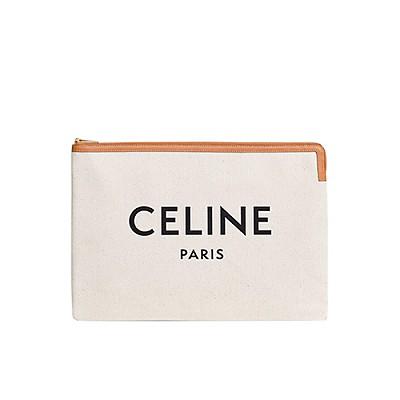 [스페셜오더]CELINE-10B802 셀린느 화이트 라지 파우치