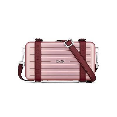 [스페셜오더]DIOR&RIMOWA-2DRCA 디올&리모아 핑크 퍼스널 레플리카클러치