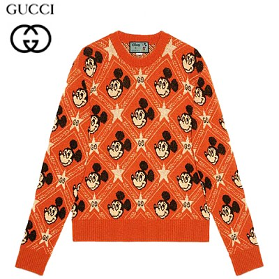 GUCCI-601563 7481 구찌 오렌지 Disney x Gucci 울 스웨터
