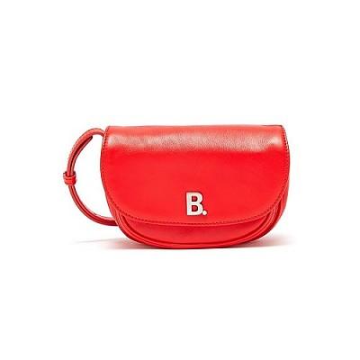 [스페셜오더]BALENCIAGA-580031 발렌시아가 레드 B.Soft Round XS 소프트 라운드 크로스 바디백