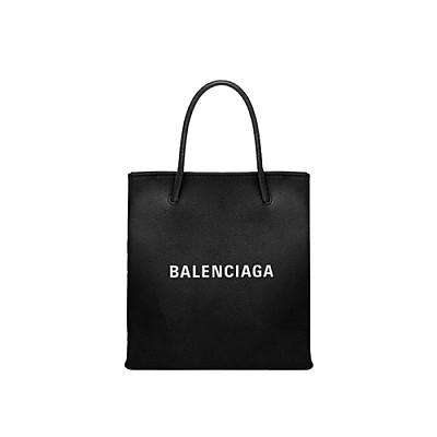 [스페셜오더]BALENCIAGA-572411 발렌시아가 블랙 SHOPPING XXS NORTH SOUTH 토트백