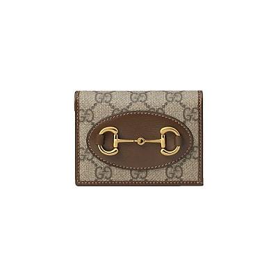 [스페셜오더]GUCCI-621887 8563 구찌 브라운 1955 홀스빗 카드 케이스 지갑