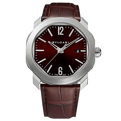 [스페셜오더]BVLGARI-불가리 옥토 로마 스틸 다크 브라운 남자시계 41mm