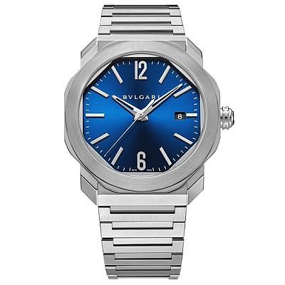 [스페셜오더]BVLGARI-불가리 옥토 로마 스틸 블루 남성시계 41mm