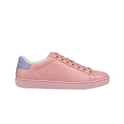 GUCCI-598527 5870 구찌 에이스 핑크 인터로킹 G 디테일 스니커즈 남여공용