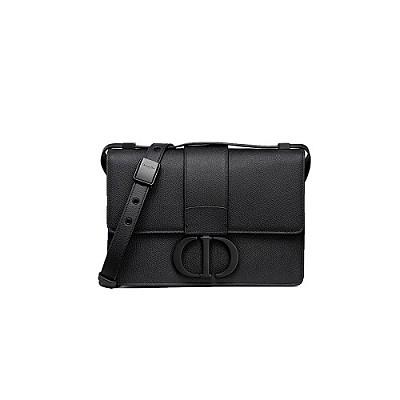 [스페셜오더]DIOR-M9203 디올 블랙 무광 CD MONTAIGNE 30 몽테인 플랩백