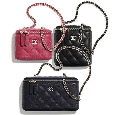 샤넬 2020 봄-여름 베니티 클래식 미니 체인백 CHANEL 2020 Spring-Summer Vanity with Classic Mini Chain Bags NO1.홍콩보물나라쇼핑몰