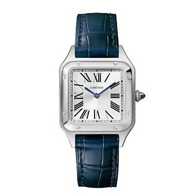 [스페셜오더]Cartier-WSSA0023 까르띠에 산토스 뒤몽 스틸 스몰 실버 다이얼 여성용시계 38mm