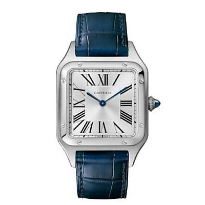 [스페셜오더]Cartier-WSSA0022 까르띠에 산토스 뒤몽 스틸 라지 실버 다이얼 남성용시계 43.5mm